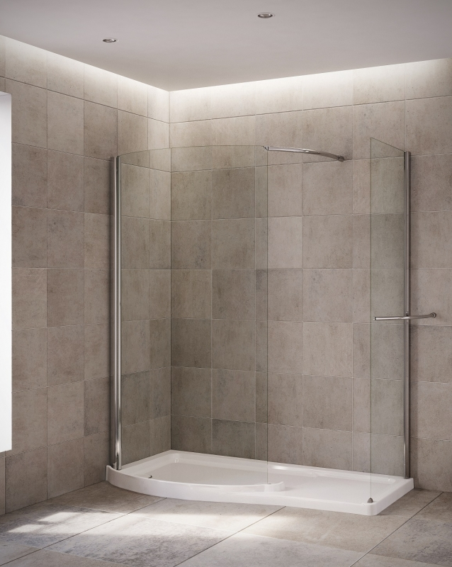 Mira leap walk in shower enclosures walk in shower for Huge walk in shower