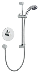 Mira Miniduo & Eco Showerhead BIV Mixer Shower