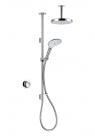 Image for Mira Mode Dual Ceiling Fed Pumped Digital Mixer Shower - 1.1874.010