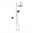 Image for Mira Platinum Dual Ceiling Fed Pumped Digital Mixer Shower - 1.1796.002