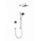 Image for Mira Platinum Dual Rear Fed Pumped Digital Mixer Shower - 1.1796.004