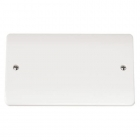 Image for Mode 2 Gang Blanking Plate White - CMA061
