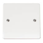 Image for Mode Single Gang Blanking Plate White - CMA060