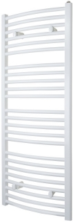 Myson Avonmore Curved White Towel Rail