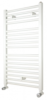 Myson Avonmore Straight White Towel Warmer