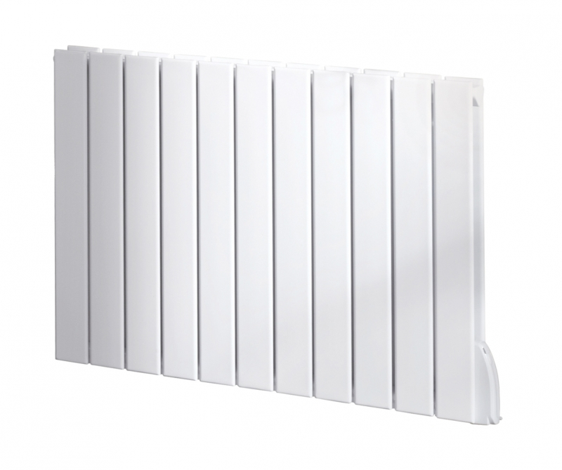 Myson electric horizontal decor radiator white for Myson decor