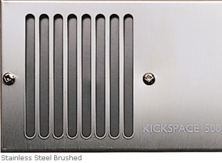 Myson Kickspace Brushed Stainless Steel Grille