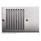 Image for Myson Kickspace 800 Grille - Brushed Stainless Steel - 3BSG800