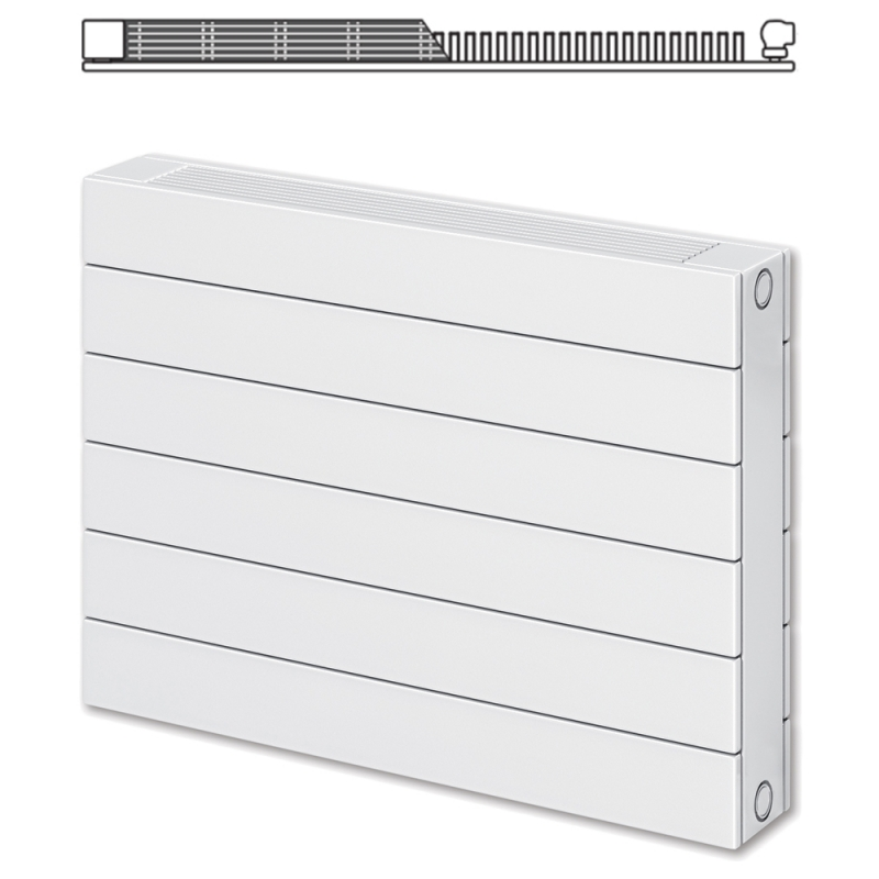 Myson new decor kh11 single panel single convector radiators for Myson decor