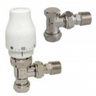 Image for Myson Petite 15mm Angled TRV And Lockshield Pack - White