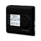 Image for Neomitis Wired 7 Day Programmable Digital Room Thermostat Black - RT7BPLUS