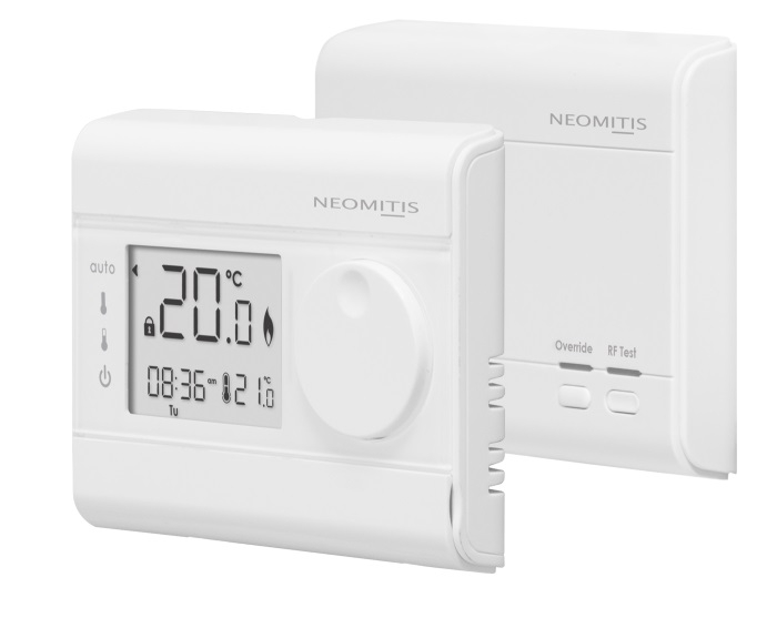 Neomitis Wireless 7 Day White Programmable Room Thermostat