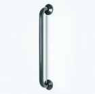 Image for Nymas NymaCARE Stainless Steel 610mm Grab Rail With Concealed Fixings Dark Grey - 210160/DG