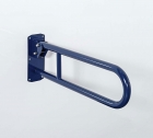 Image for Nymas NymaCARE Stainless Steel Hinged 650mm Support Rail Dark Grey - 211865/DG