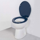 Nymas NymaCARE Toilet Seat With Lid Dark Blue - 260006 DB