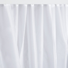 Image for Nymas NymaCARE Weighted Polyester Shower Curtain - 1800mm x 2000mm - White - 250603/WH