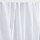 Image for Nymas NymaCARE Weighted Polyester Shower Curtain - 3000mm x 2000mm - White - 250608/WH