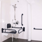 Image for Nymas NymaPro Concealed Valve Doc M Shower Pack Polished Stainless Steel - 230403/SP