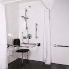 Image for Nymas NymaStyle Concealed Valve Luxury Doc M Shower Pack Satin Stainless Steel - 321102/SS
