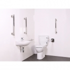 Image for Nymas NymaSTYLE Luxury Close Coupled Doc M Toilet Pack - Satin - 320101/SS