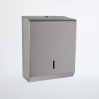Nymas NymaSTYLE Stainless Steel Paper Towel Dispenser - Satin - 260508 SS