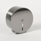 Nymas NymaSTYLE Stainless Steel Toilet Roll Dispenser - 320mm Diameter - Satin - 260202 SS