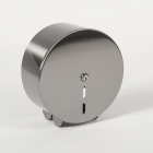 Image for Nymas NymaSTYLE Stainless Steel Toilet Roll Dispenser - 250mm Diameter - Satin - 260201/SS