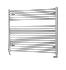 Image for Pisa Chrome Horizontal Towel Rail - 800mm x 1000mm - HZ8001000