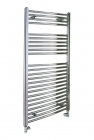 Image for Pisa Chrome Straight Towel Rail - 800mm x 500mm - ZTK0008501