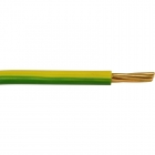 Image for Pitacs 6491 x 10.0mm 50m 1 Core Green / Yellow Cable - EC776001