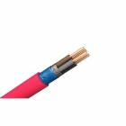 Image for Pitacs EC776407 1.5mm 100m 4 Core Red Softskin Fire Cable