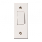 Image for Polar 1 Gang 2 Way Architrave Switch - PRW171