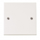 Image for Polar 20A Flex Outlet Plate White - PRW017