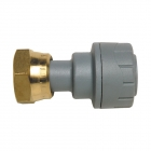 Polyplumb Straight Tap Connector