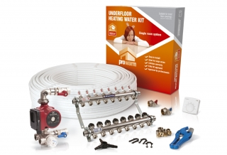 ProWarm™ Single Room High Output Water Kit to cover 60m²