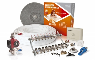 ProWarm Multi Zone Wet UFH Kits