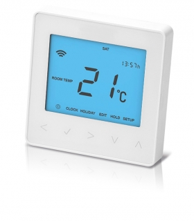 Prowarm™ Pro IQ Digital Programmable Touchscreen Thermostat - White
