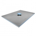 Image for ProWarm Wet Room Tray - Centre Drain - 1000mm x 1000mm - CENTREDRAIN1000X1000