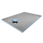 Image for ProWarm Wet Room Tray - End Drain - 1200mm x 900mm - ENDDRAIN1200X900