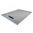 Image for ProWarm Wet Room Tray - Linear Centre Drain - 1200mm x 900mm - LINEARENDDRAIN1200X900