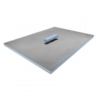 Image for ProWarm Wet Room Tray - Linear Centre Drain - 1400mm x 900mm - LINEARCENTREDRAIN1400X900