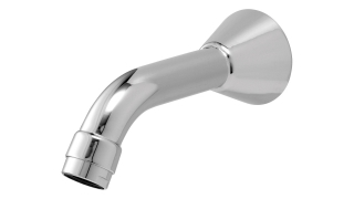 Rada SP T150 Wall Mounted Bath Spout - Short 1.1503.734