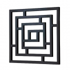 Radox Maze Towel Rails - Anthracite