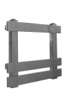 Image for Radox Octagon Stainless Steel 630x400mm Towel Rail