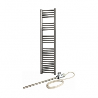 Radox Premier Dual Fuel Chrome Slimline Towel Rails
