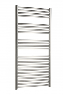 Radox Premier XL Curved Stainless Steel Towel Rails