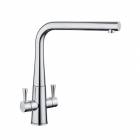 Image for Rangemaster Conical Dual Lever Kitchen Mixer Tap Chrome - TCO1CM/