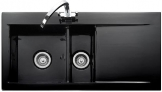 Rangemaster Nevada Black Sink