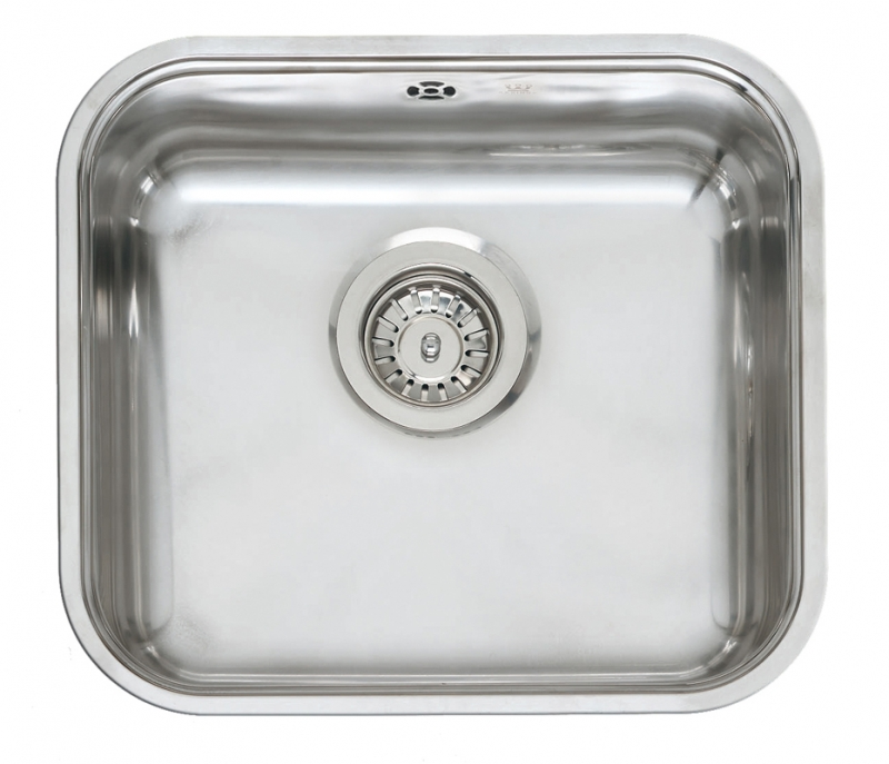 Large Stainless Steel Sinks Uk : Reginox Comfort Colorado OKG Inset Stainless Steel Kitchen Sink
