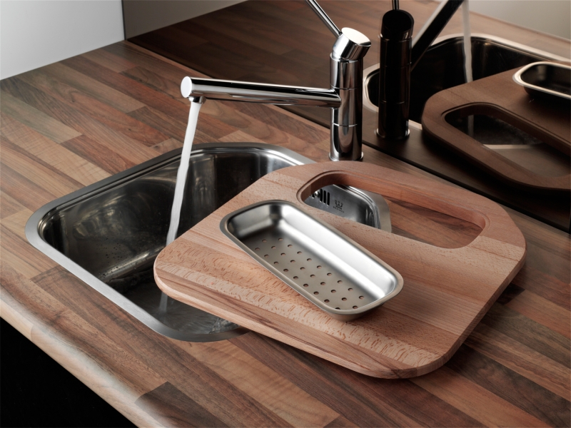 Integrated Kitchen Sink : ... Denver L OKG Stainless Steel Integrated Kitchen Sink Kitchen Sink